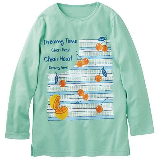 【レディース】 Tシャツ(セミロング丈・綿100%) – セシール