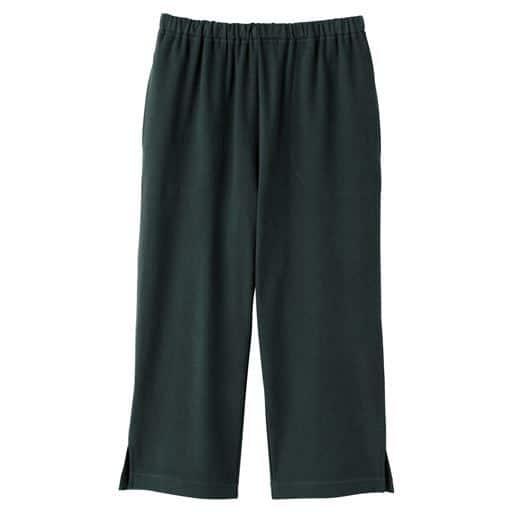 【レディース】 綿100%カプリパンツ(無地・膝下丈)の通販