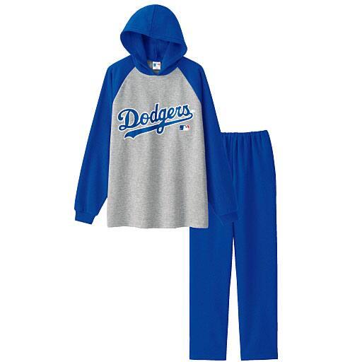 【SALE】 【ティーンズ】 パーカータイプパジャマ(MLB)(男女兼用)