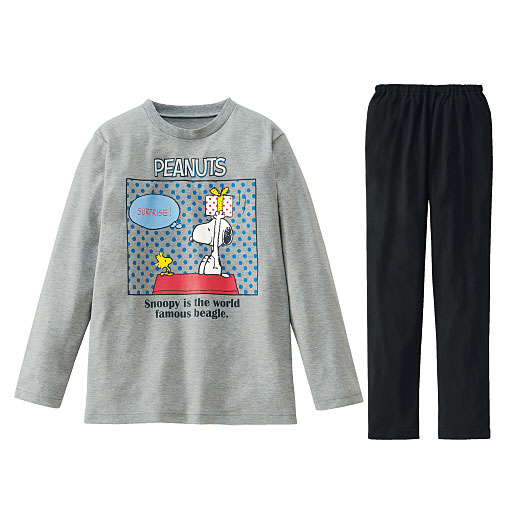 【ティーンズ】 人気のスヌーピーTタイプパジャマ(スヌーピー)の通販