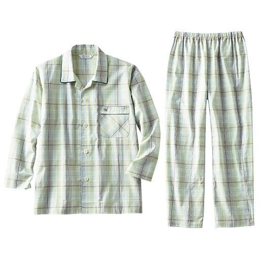 【メンズ】 先染めドビーシャツパジャマ(アーノルドパーマー) – セシール