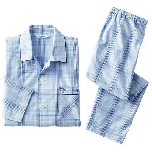 【メンズ】 先染めドビーシャツパジャマ(アーノルドパーマー)