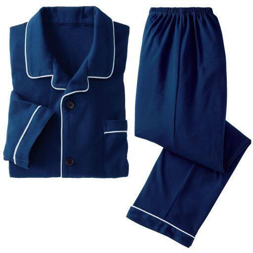 【レディース】 シャツパジャマ・ニット(男女兼用)