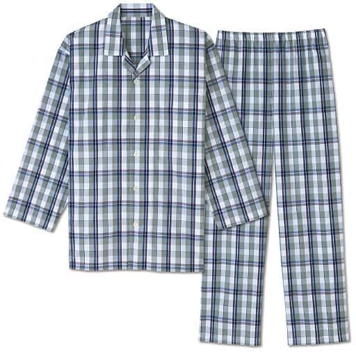 【レディース】 シャツパジャマ・ブロードの通販