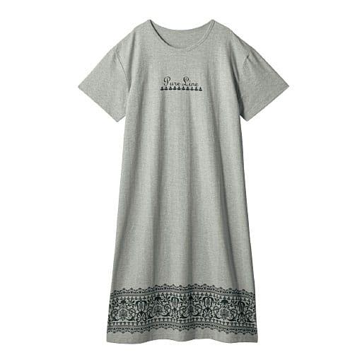 【レディース】 Tタイプワンピース(綿100%)の通販
