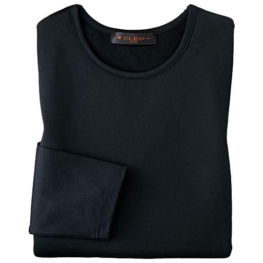 【レディース】 裏起毛八分袖Tシャツ - セシール