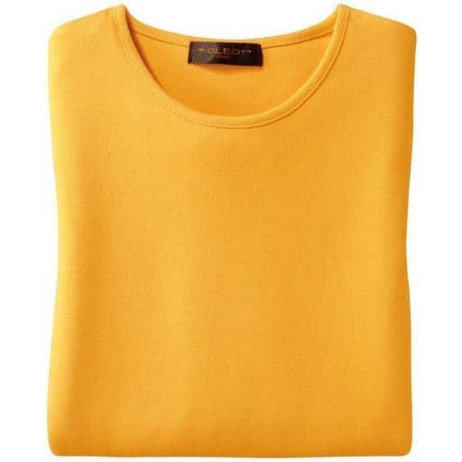 【レディース】 綿100% 七分袖Tシャツの通販