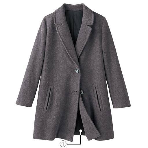 【レディース】 ふんわりゆったりコート