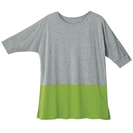 【レディース】 切替カジュアルTシャツの通販