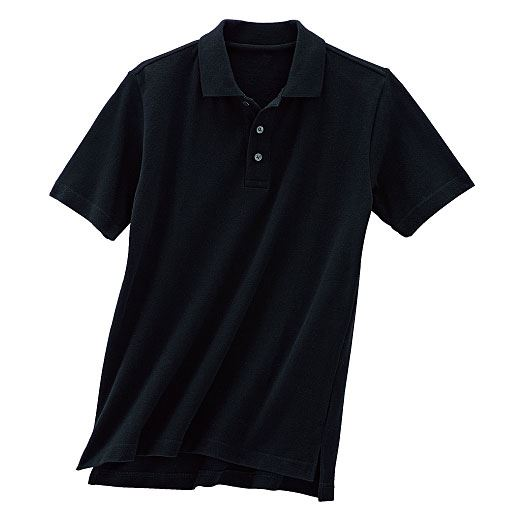 【レディース】 鹿の子半袖ポロシャツ(男女兼用)