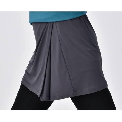 【レディース】 ヒップをカバーするアクティブスカート