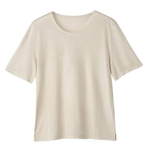 【レディース】 シルク半袖プルオーバーの通販