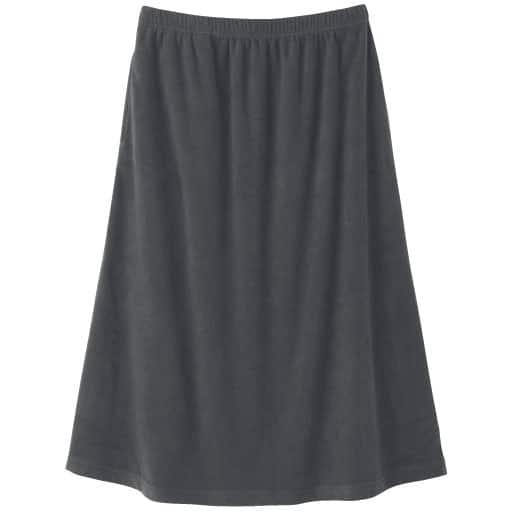 【レディース】 凄暖W起毛フリーススカート