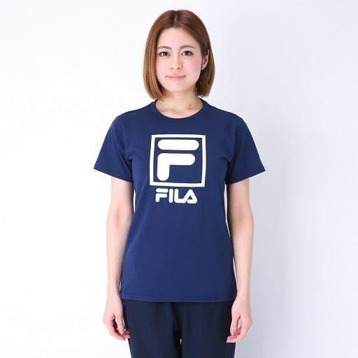 【レディース】 FILA吸汗速乾UVカット半袖Tシャツの通販