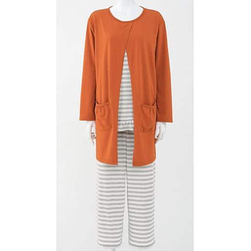 【レディース】 カーディガン羽織風パジャマ – セシール