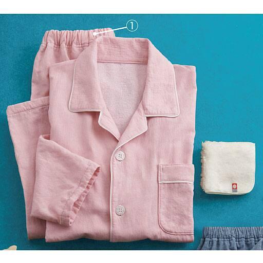 今治タオルパジャマ(綿100%・男女兼用)