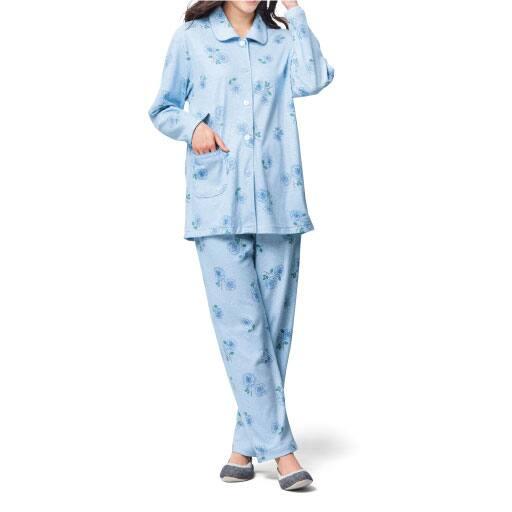 【SALE】 【レディース】 パジャマ(スムース綿100%・日本製)