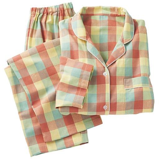 【レディース】 洗い替えの1枚に!柄が可愛いパジャマ(綿100%)