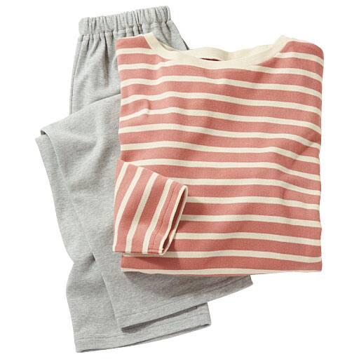 【レディース】 洗い替えの1枚に!色が可愛いTタイプパジャマ