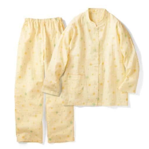 【レディース】 パジャマ(二重ガーゼ綿100%・日本製) – セシール