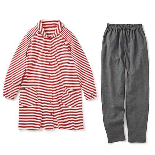 【SALE】 【レディース】 パジャマ(チュニック丈・綿100%)の通販