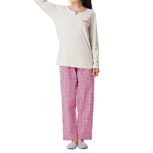 【レディース】 Tタイプパジャマ