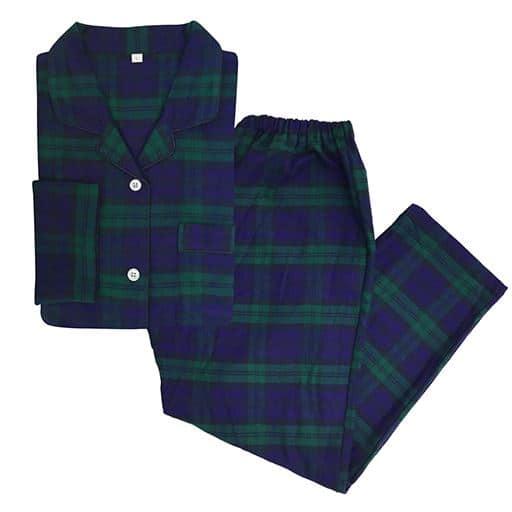 【レディース】 レディスシャツパジャマ