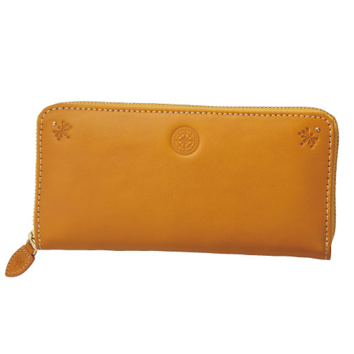 【レディース大きいサイズ】 ラウンド型長財布(本革・大容量)の通販