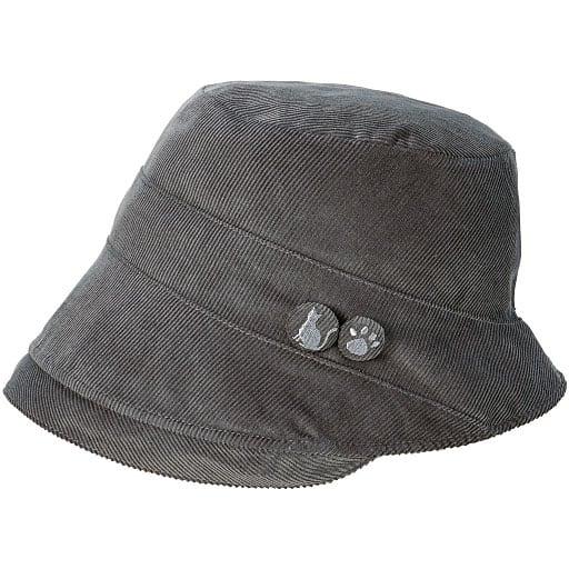 ねこのUVカット帽子