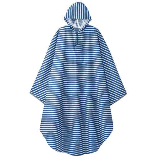 ポンチョ型レインコート(収納袋付き) – セシール