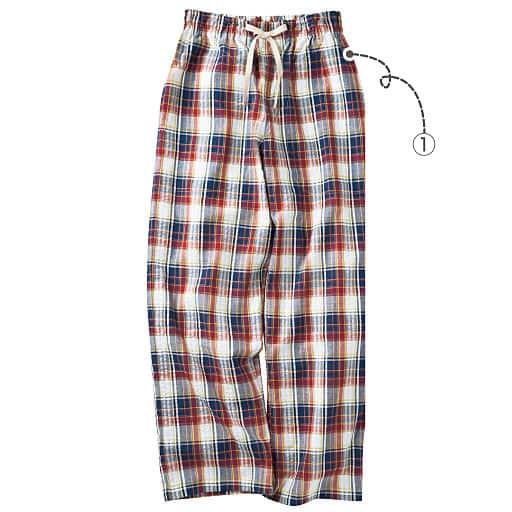 【レディース】 パンツ(綿100%)