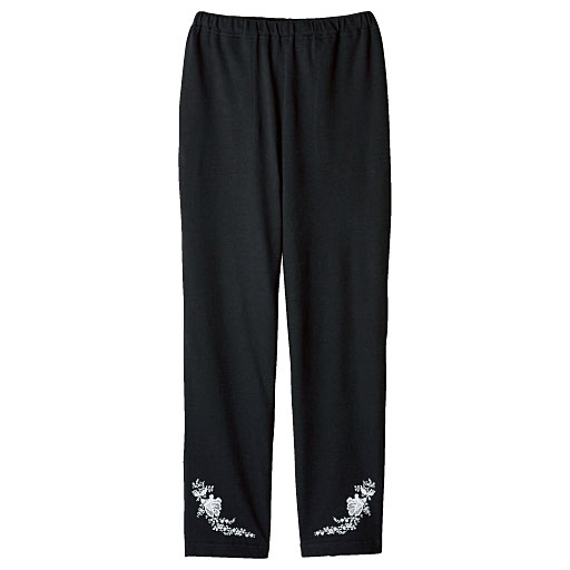 【SALE】 【レディース】 パジャマにもルームウェアにも便利なパンツ(綿混・吸汗・速乾・スリムタイプ)の通販