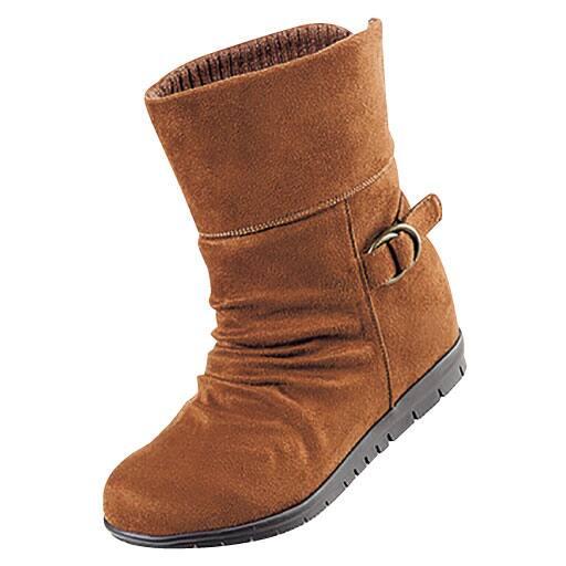 【SALE】 ふわふわ吸湿発熱ブーツ(消臭) – セシール