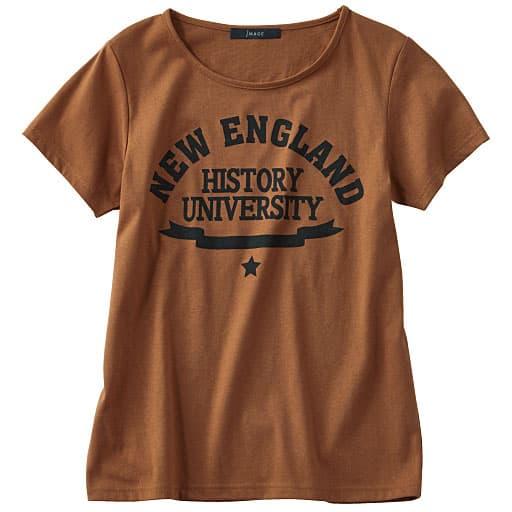 【SALE】 【レディース】 カレッジロゴプリントTシャツの通販