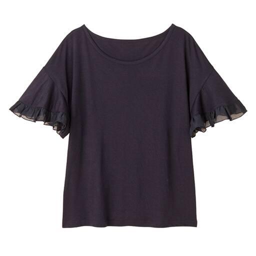 【SALE】 【レディース】 フレアスリーブTシャツの通販