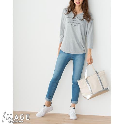 【SALE】 【レディース】 レタープリントTシャツの通販