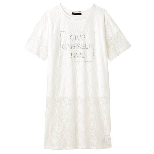 【SALE】 【レディース】 レーストップ&Tシャツ – セシール