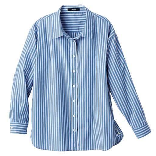 【レディース】 3WAYストライプシャツの通販