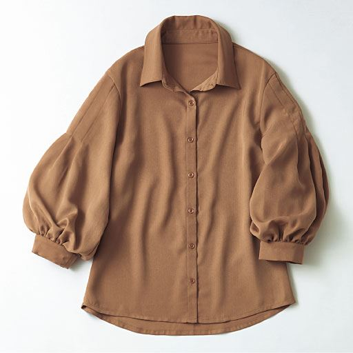 【レディース】 ボリュームスリーブシャツの通販
