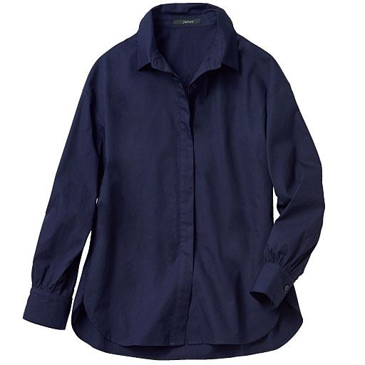 【レディース】 抜き襟バランスアップシャツの通販