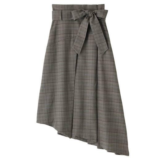 【SALE】 【レディース】 ラップアシメトリースカート