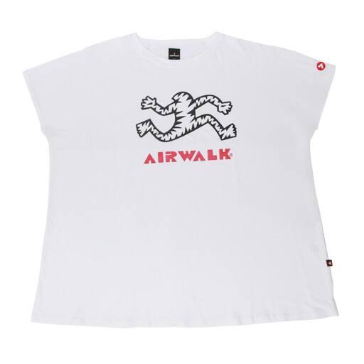 50%OFF【レディース】 プリントBIGTシャツ(エアウォーク)