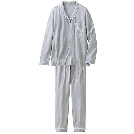 【レディース】 シャツパジャマセット