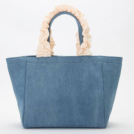 【SALE】 フリルハンドルバッグ