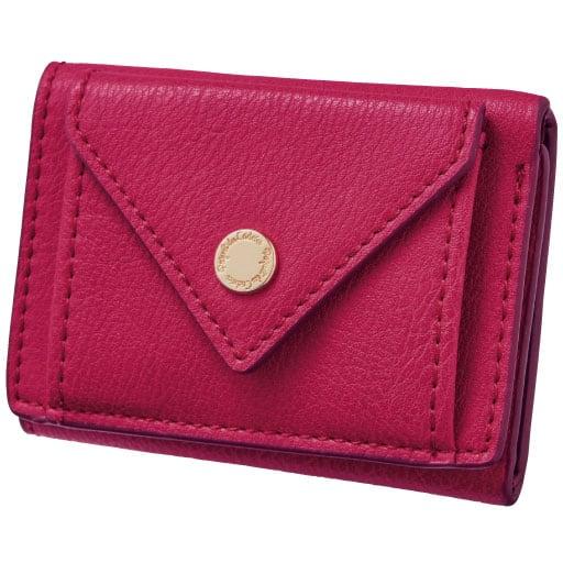【SALE】 フラップデザインミニ財布 – セシール