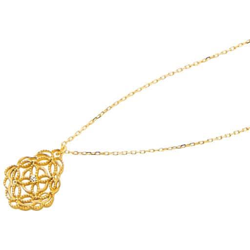 【SALE】 厚メッキシンプルデザインネックレス
