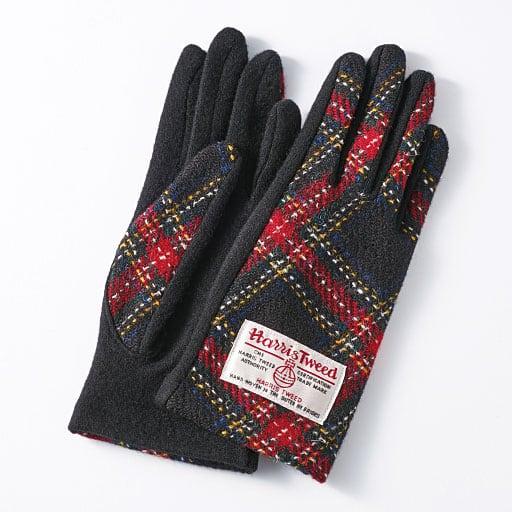 【SALE】 香川 ハリスツイードを使った手袋 – セシール