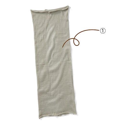 ネックウォーマー(絹100%) – セシール
