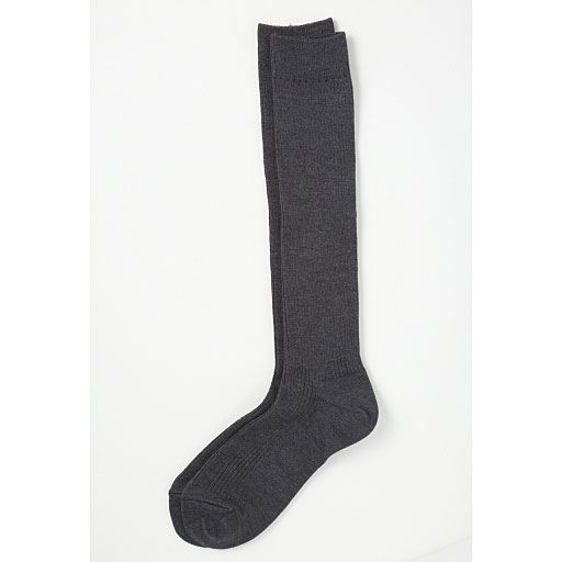 【レディース】 ファミリーハイソックス・3足組(家族ではける定番靴下 21cm-27cm)(ハイソックス)