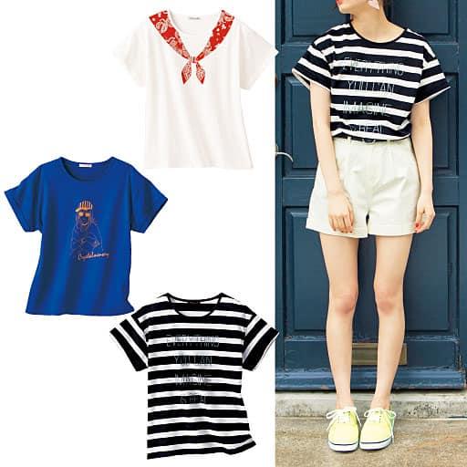 【ティーンズ】 プリントデザインTシャツの通販